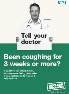 Be clear on cancer - respiratory campaign
