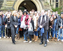 International Tourism and Hospitality Students visit the Hotel